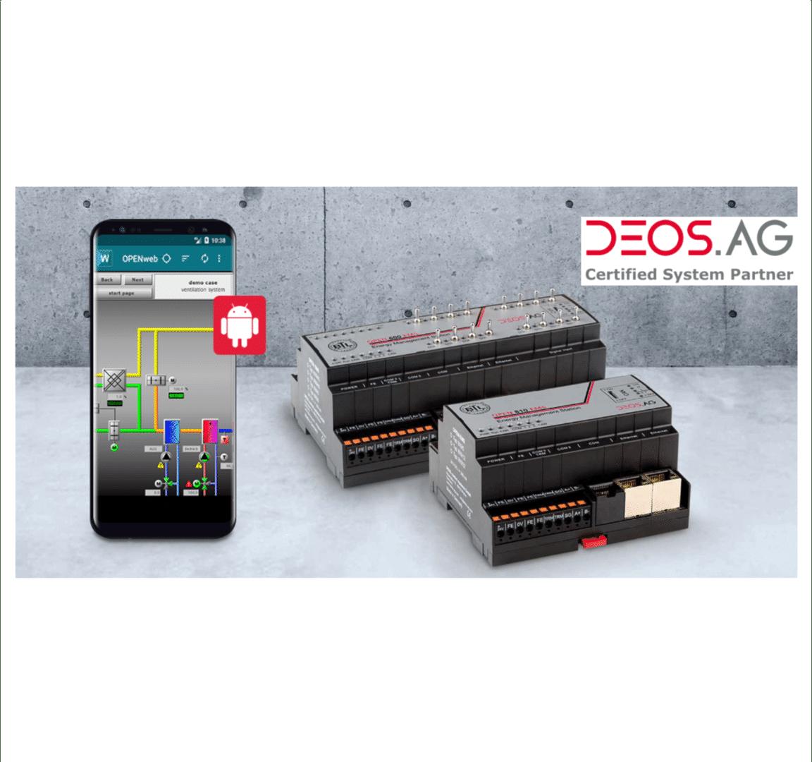 DEOS Gebouwenautomatisering DHPS
