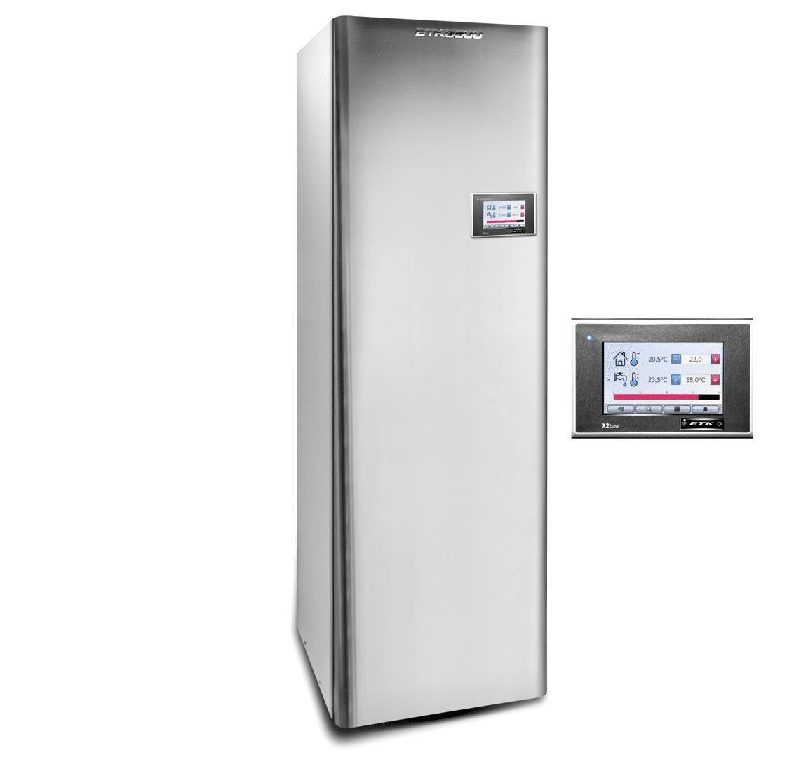 ETK 3,5kW ventilatielucht/water warmtepomp van DHPS