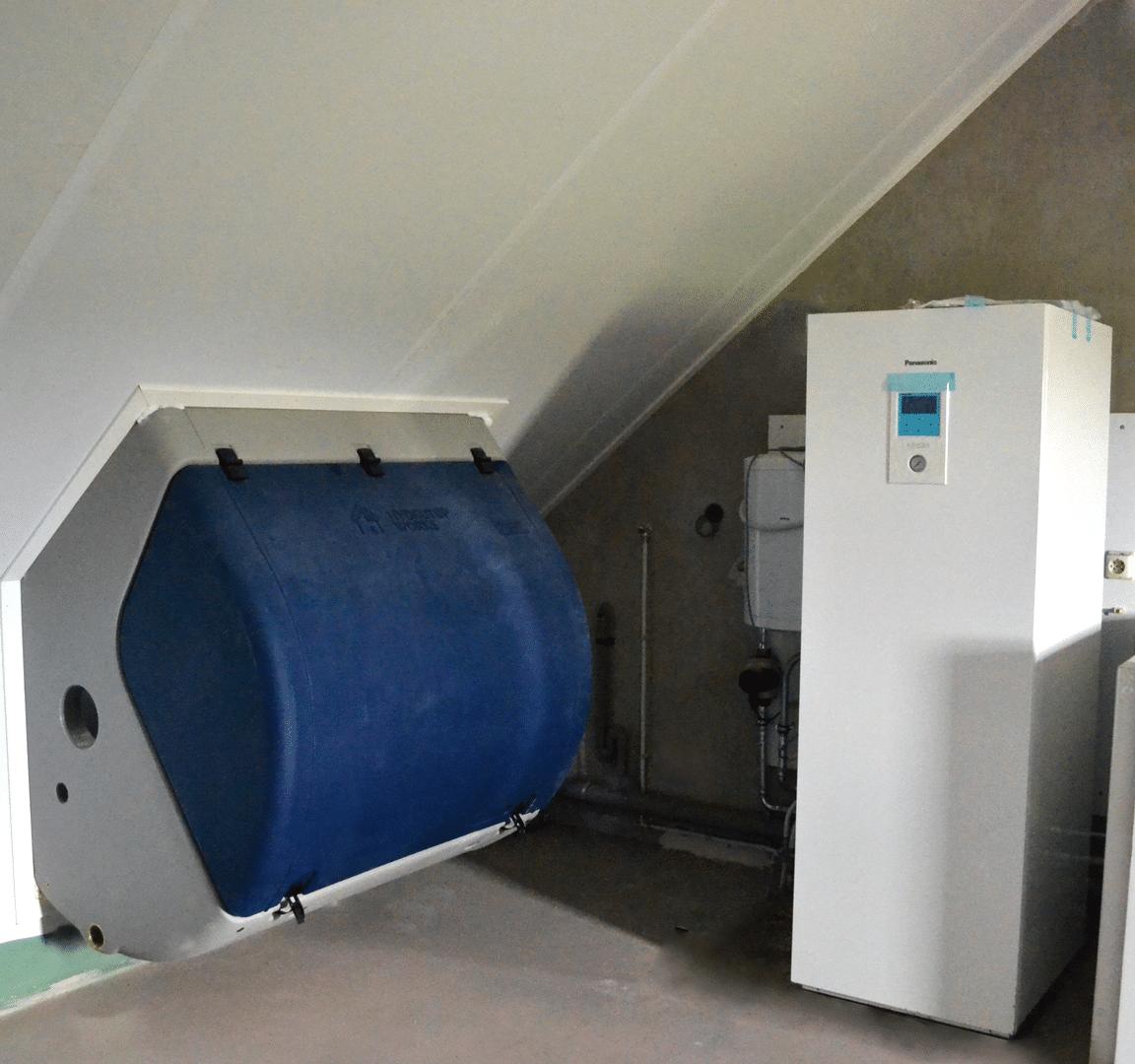 Foto van de installatie van een HydroTop