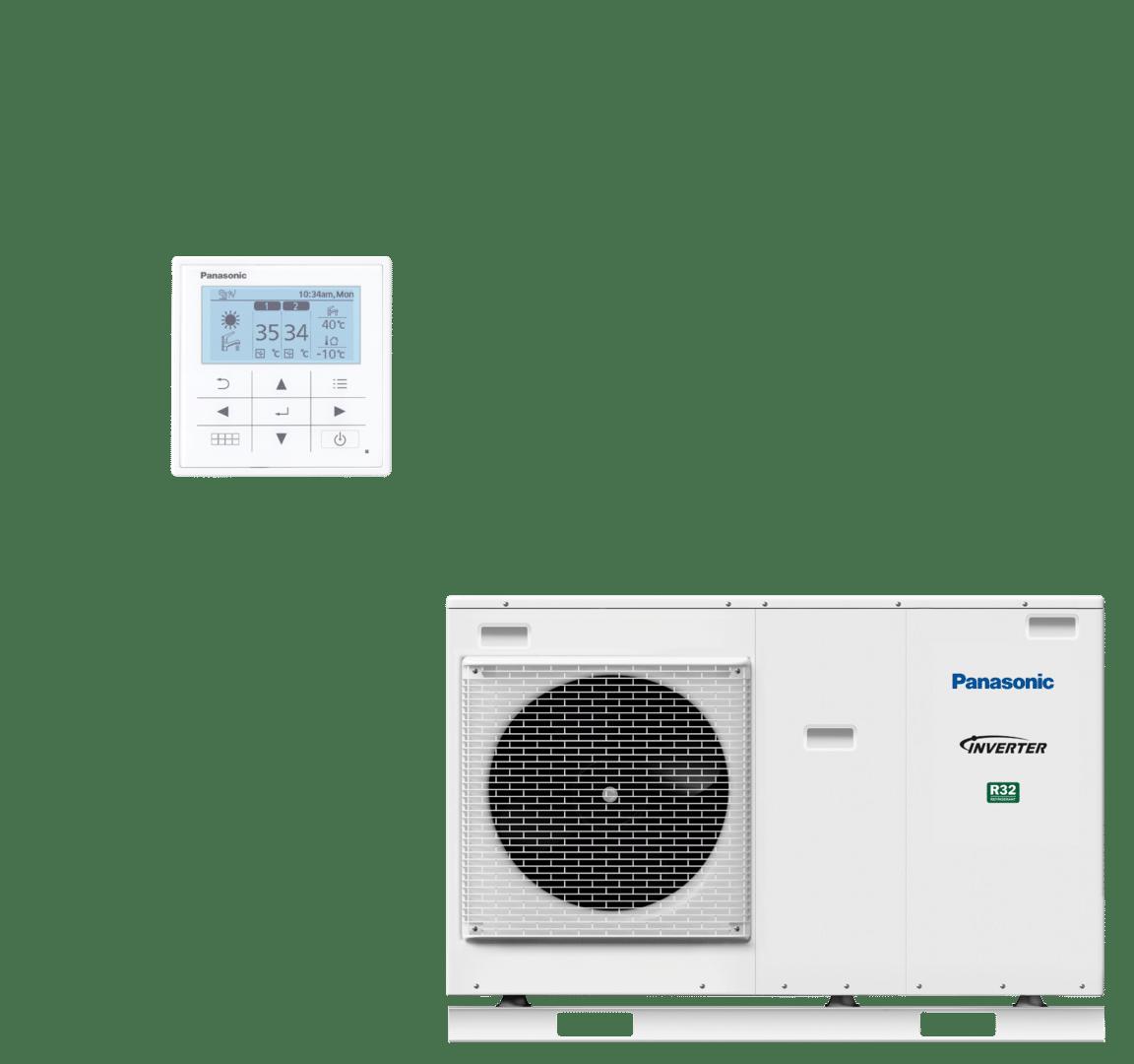 Afbeelding van Panasonic warmtepomp