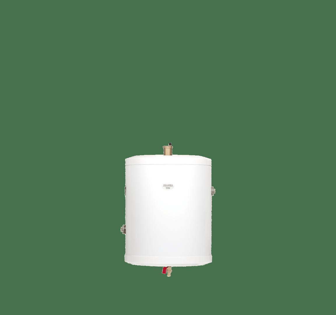 Panasonic warmtepomp buffertank 50 liter rvs van DHPS