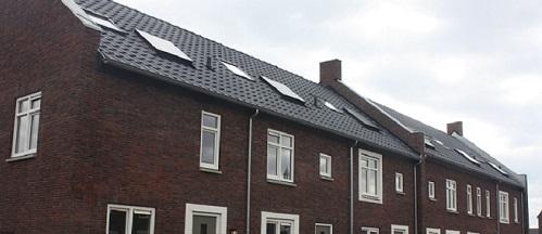 Foto van de oplevering in Steenbrugge