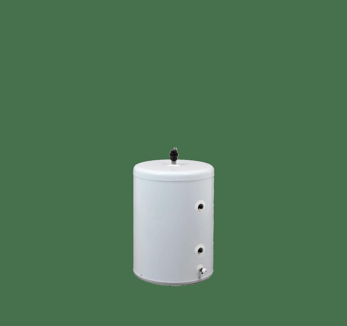 Panasonic warmtepomp buffertank 50 liter staal van DHPS