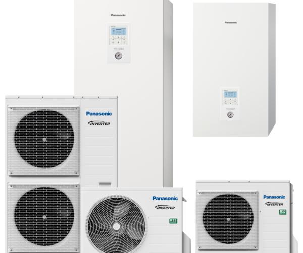 Panasonic warmtepompen