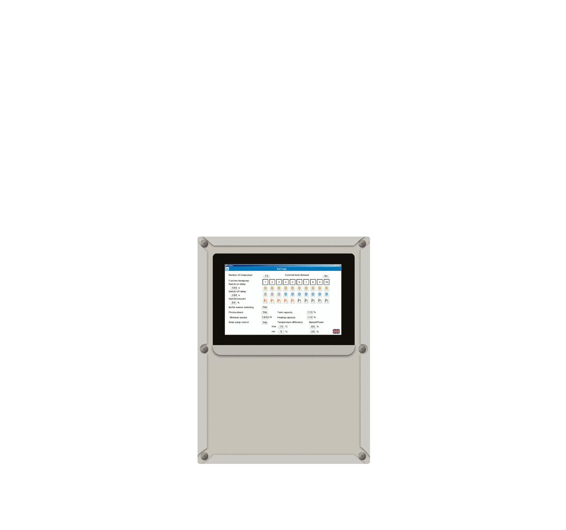 Modbus IP voor BMS communicatie van DHPS